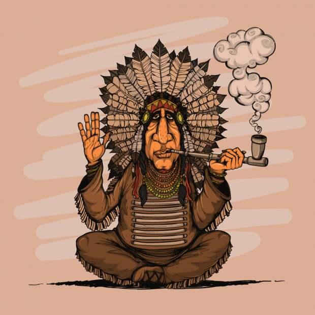 Анекдоты Про Индейцев