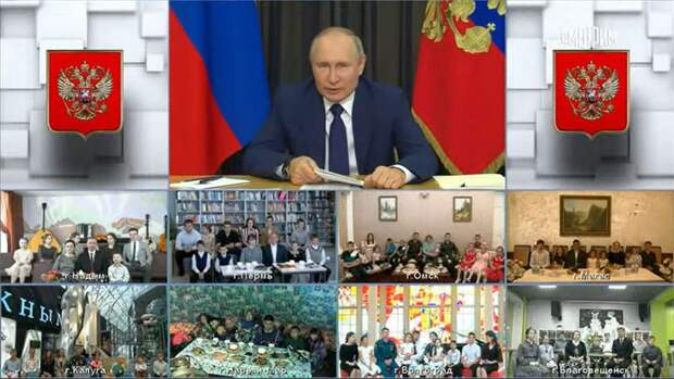 Путин призвал «нежадного» миллиардера поддержать многодетные семьи
