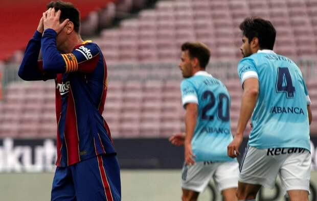 «Барселона» проиграла «Сельте» и лишилась шансов на победу в чемпионате Испании