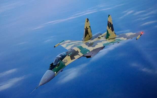 Русские пилоты припугнули оборзевших американских разведчиков