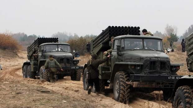 В ЛНР обвинили ВСУ в размещении запрещенной техники в жилых кварталах в Донбассе