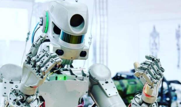 Стало известно, когда «Робот-Леонов» выйдет в открытый космос