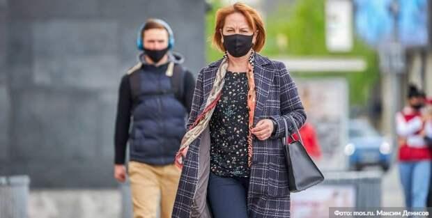 В торговых центрах ЦАО выявили 58 нарушителей перчаточно-масочного режима. Фото: М. Денисов mos.ru