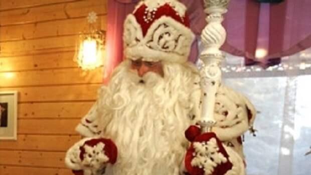 Дед Мороз из Великого Устюга дистанционно принял участие в выборах