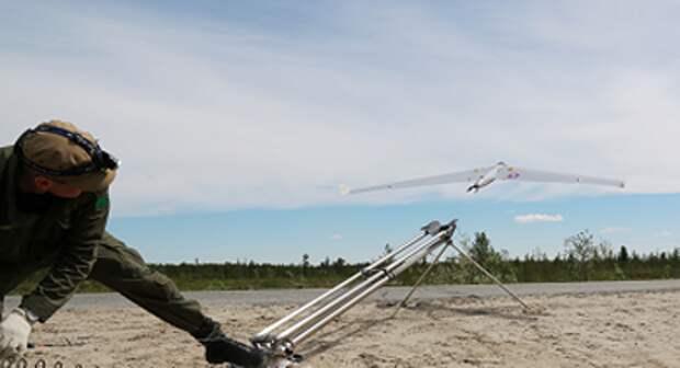"""""""Роснефть"""" начала применять беспилотники для контроля уровня парниковых газов"""