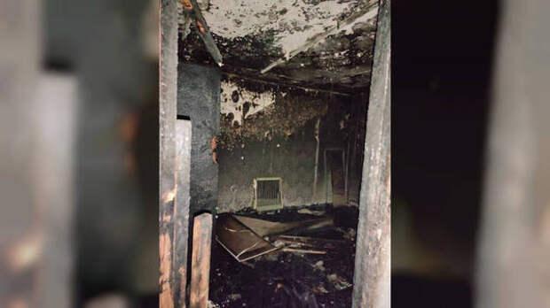 Двадцать пять человек спасли при пожаре в жилом доме в Томске