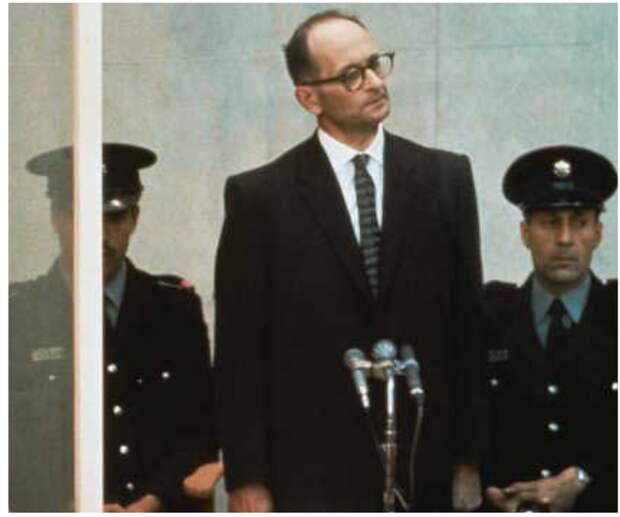 Адольф Эйхман, подсудимый в Иерусалиме 91961 г.)
