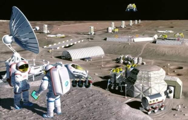 Сколько человек могут жить на Луне?