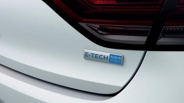 Компания Renault опубликовала изображения нового Megane E-Tech Electric