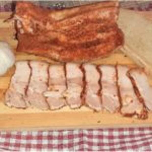 Свиная грудинка по-домашнему