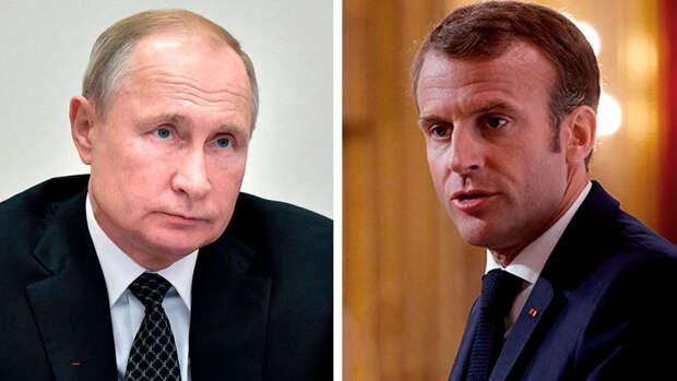 Макрон намерен провести переговоры с Путиным в ближайшее время