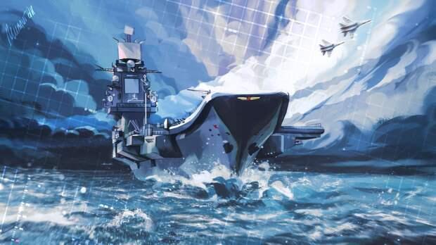 Новый авианосец может войти в состав ВМФ России