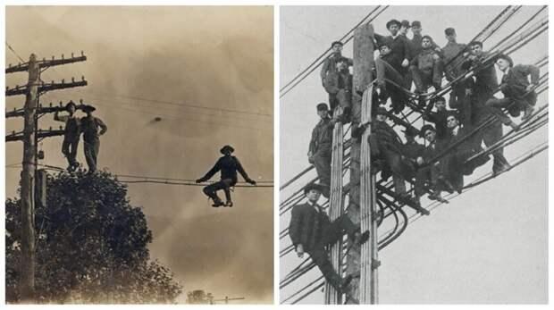 Удивительная история отом, каквСШАпоявились первые телеграфные столбы