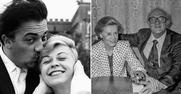 Софи Лорен, Адриано Челентано и Федерико Феллини – истории великой любви