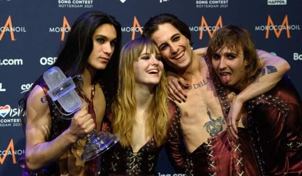Что известно о победителях «Евровидения-2021»: гей-скандал и слухи о наркотиках