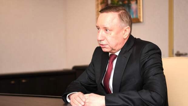 Беглов призвал петербуржцев привиться от COVID-19 желанной во всем мире вакциной