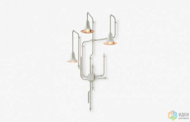 Дизайнерские светильник: лианы и джунгли