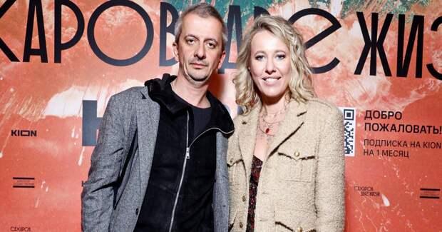 Собчак с мужем, Тодоренко: звезды на премьере фильма с Хаматовой