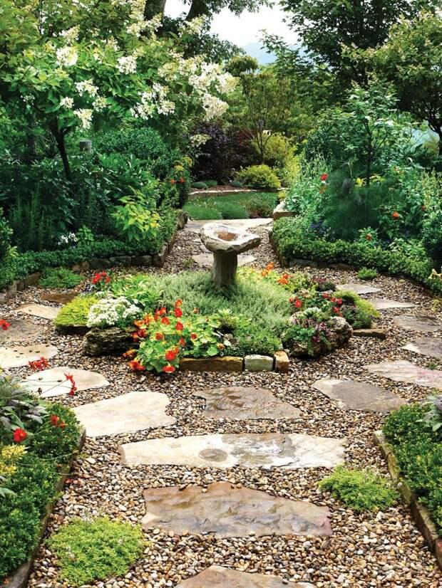 25 идей садовых дорожек для вашей дачи