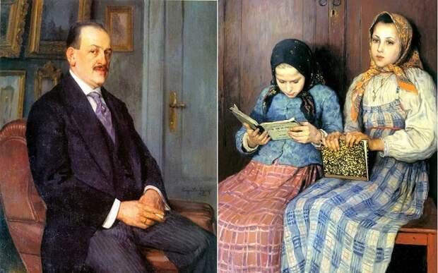 Н. П. Богданов-Бельский - живописец русской деревни.