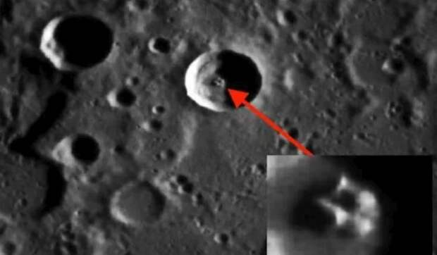 НЛО и база пришельцев на Меркурии