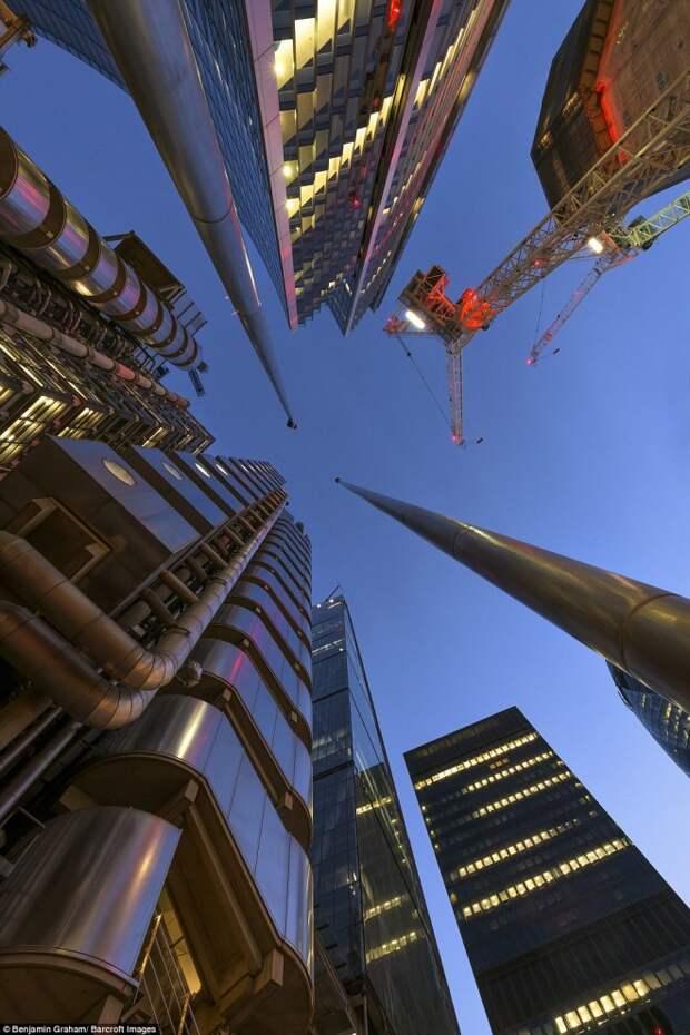 Лондонские небоскрёбы