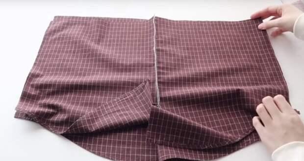 Шикарная одежда для дома из старой рубашки