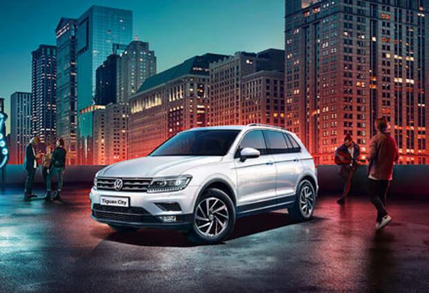 Российский Volkswagen Tiguan получил «городскую» версию