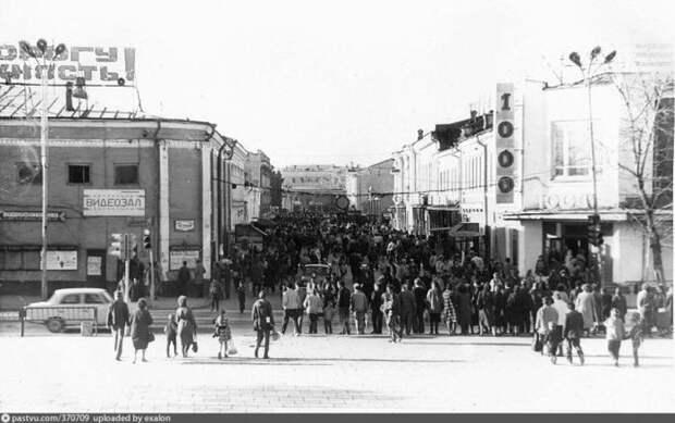 Видеозал на ул.Урицкого в Иркутске. история, факты, фото