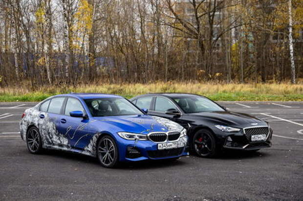BMW 3-й серии и Genesis G70: баварские уроки