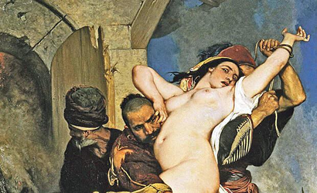 American Thinker(США): сексуальное порабощение белых женщин мусульманами в изобразительном искусстве