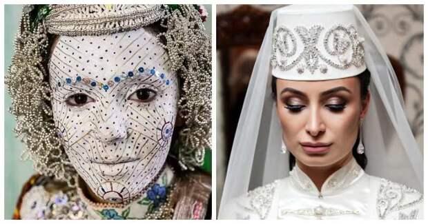 Как выглядят невесты в Косово или Осетии? Самые эффектные бьюти-образы со свадеб