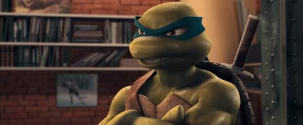 Леонардо из мультсериала