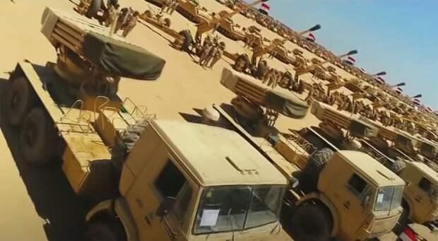 В арабском мире комментируют слова президента Египта о готовности ввести войска в Ливию