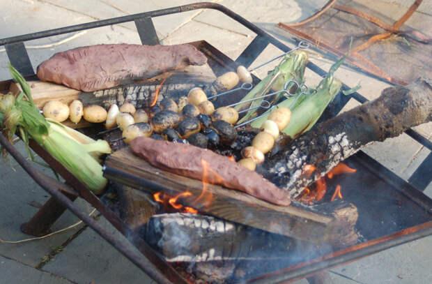 6 замен надоевшему шашлыку на даче. Делаем рыбу, курицу и уху