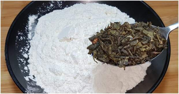 Перемешайте чай с мукой и вы будете в восторге от результата! Вкуснятина к чаю и на завтрак за копейки