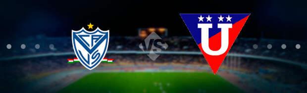 Велес Сарсфилд - ЛДУ (Кито): Прогноз на матч 14.05.2021