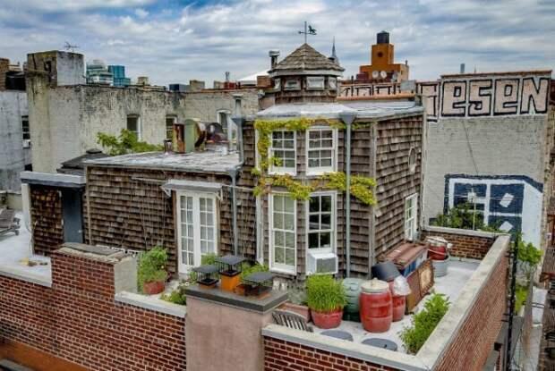 9. Дуплекс в Нью-Йорке дом, интересное, подборка, факты