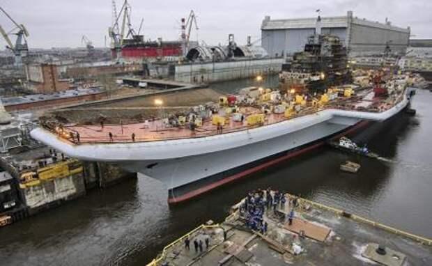 Нужно ли России строить свои авианосцы?