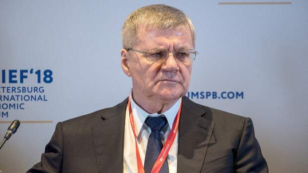 Юрий Чайка награжден орденом «За заслуги перед Отечеством» I степени