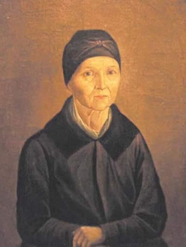 Портрет Арины Родионовны неизвестного художника. Фото: общественное достояние
