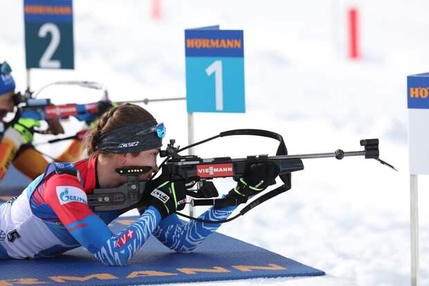Биатлонистка из Удмуртии Ульяна Кайшева взяла «золото» женской эстафеты этапа Кубка мира