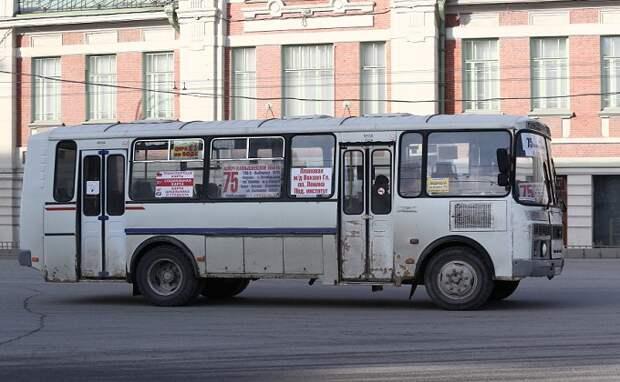 В Новосибирске женщина и ребенок попали из автобуса в больницу