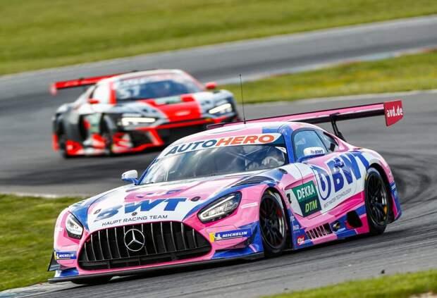 Максимиллиан Гётц принёс Mercedes вторую подряд победу в DTM
