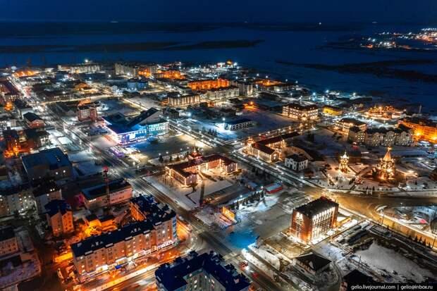 Фотоистория Нарьян-Мара с высоты: чем живет северный город у Белого моря