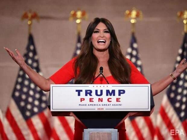 """""""Моя мать из Пуэрто-Рико, отец тоже иммигрант"""". Подруга Трампа – младшего стала героиней мемов после выступления на съезде республиканцев"""