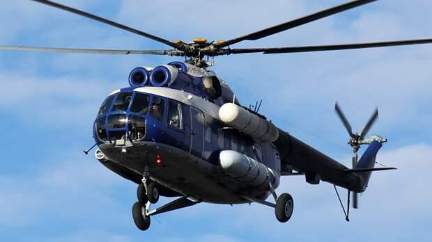 Экипаж пропавшего на Камчатке вертолета Ми-8 два часа не выходит на связь