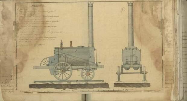 Вакуумная, двухцилиндровая паровая машина Ползунова.