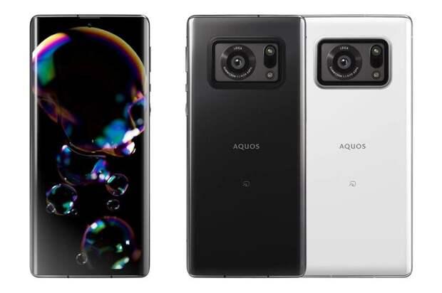 Sharp представила смартфон с самой большой камерой