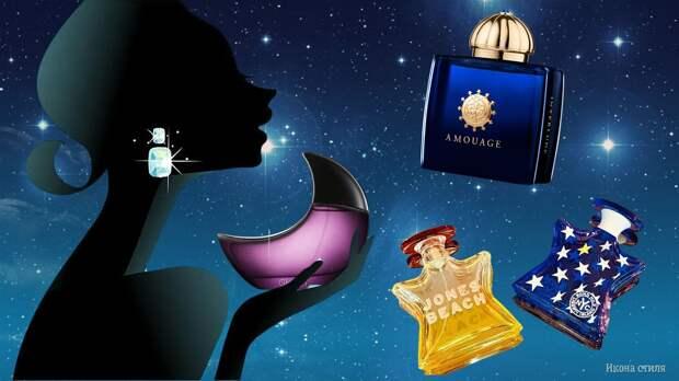 5 космических ароматов, которые у многих женщин ассоциируются со звездным небом, ночью и Луной